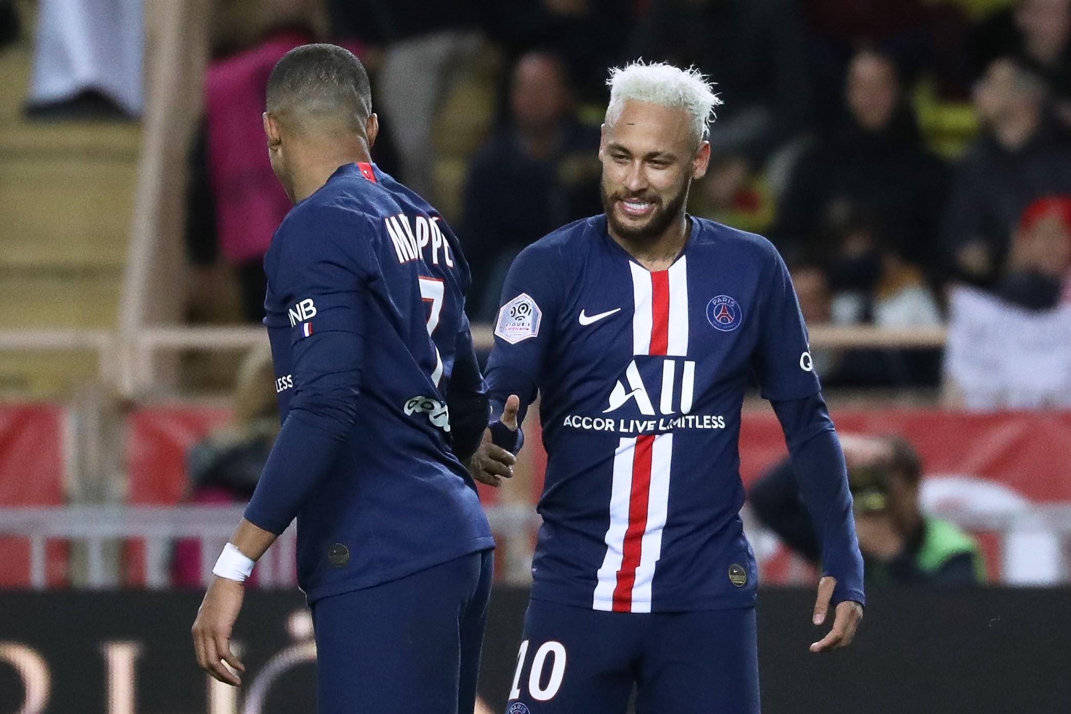 Kylian Mbappé und Neymar