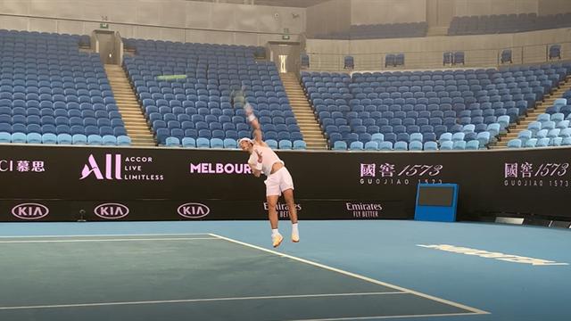 Open Australia 2020: Nadal sube el ritmo en el entrenamiento con Wawrinka