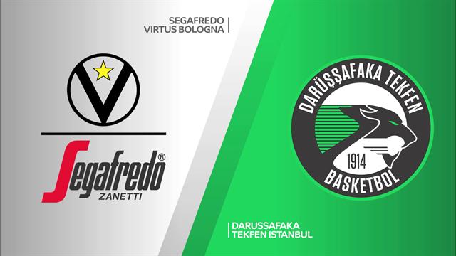 Highlights: Virtus Segafredo Bologna-Darussafaka Tekfen Istanbul 83-72