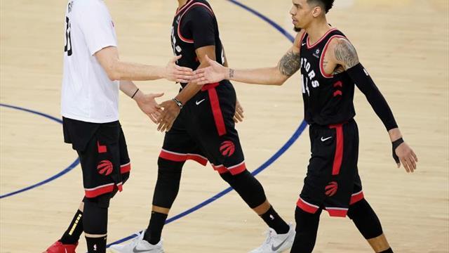 121-130. Powell dirige el triunfo de los Raptors ante los Thunder