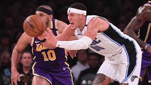 I risultati della notte: cadono a sorpresa Lakers e Celtics, Gallinari non basta a OKC