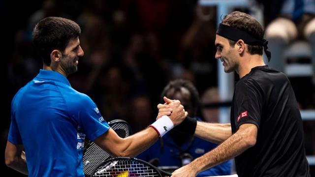 Djokovic avancera vers Federer, et Nadal vers Medvedev