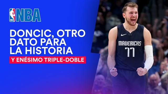 🏀😲 Otro triple-doble de Doncic para la historia; Marc Gasol vuelve a lo grande