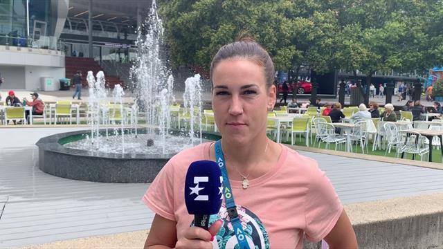 """Nuria Párrizas, en Eurosport: """"Es un sueño y voy a seguir peleando"""""""