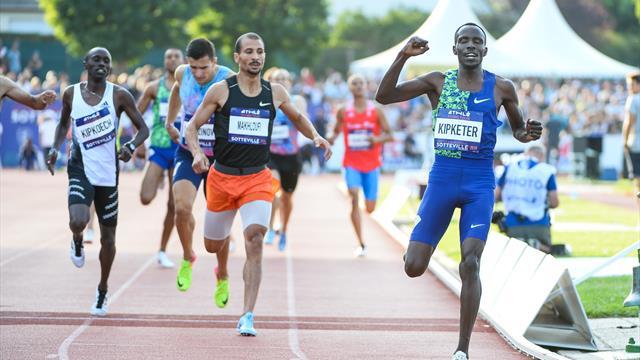 Sospeso il finalista olimpico e mondiale degli 800 Kipketer
