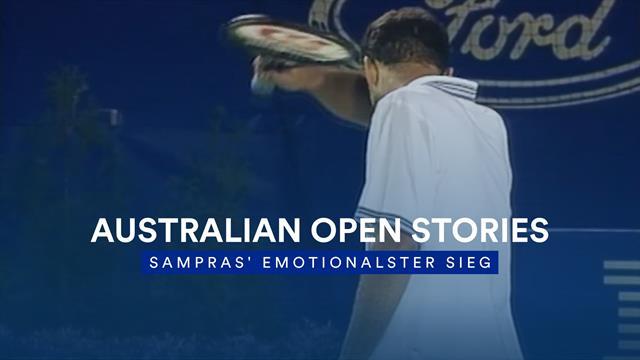 Australian Open Stories: Pete Sampras' emotionalster Sieg