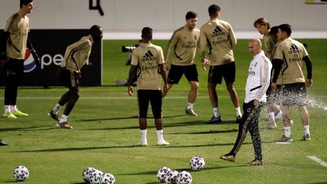 Ramos sigue en el gimnasio y Jovic vuelve con el grupo