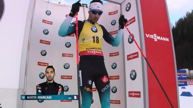 Highlights: Fourcade leads home French one-two