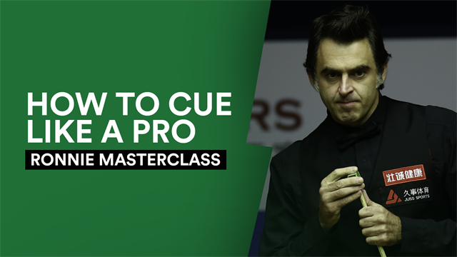 Ronnie's Masterclass: How to improve your cueing (by copying Murphy)