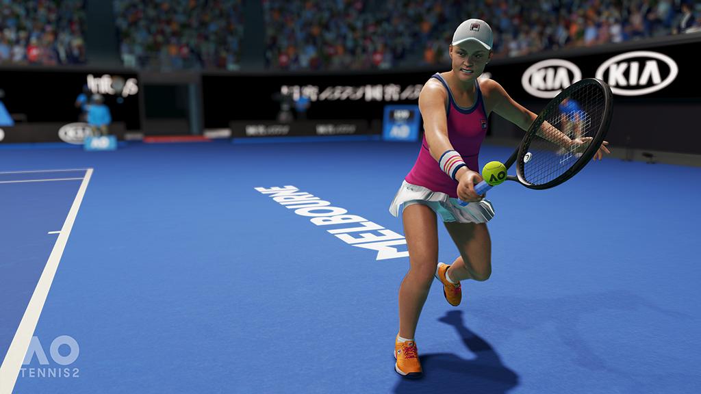 Ash Barty AO Tennis 2