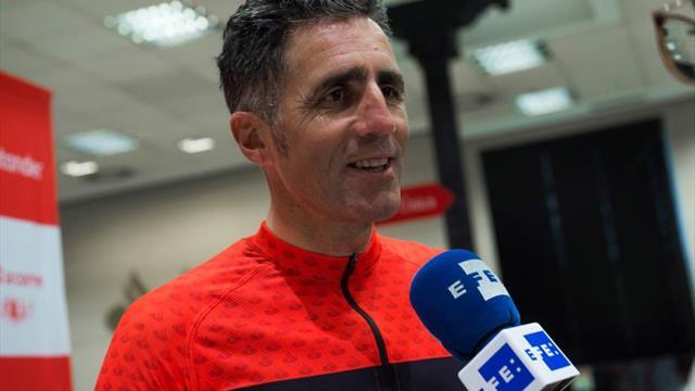 """Indurain: """"Ya que empiezo con la """"mountain bike"""" lo hago en la mejor carrera"""""""