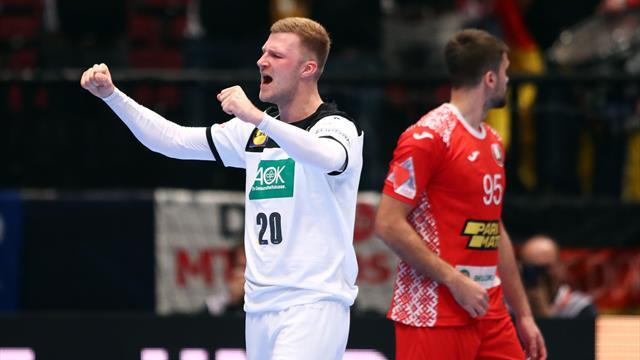 Deutschland gelingt Hauptrunden-Auftakt: So lief das Spiel gegen Weißrussland