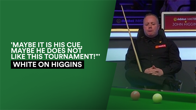 White left bemused by uncharacteristic Higgins performance