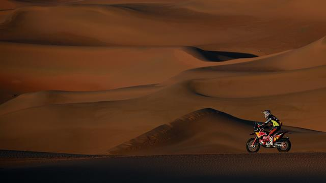 Brabec holds big bikes lead ahead of final Dakar stage despite dropping time in the dunes