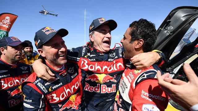 Dakar 2020: Carlos Sainz se proclama tricampeón; Alonso 13º en su debut