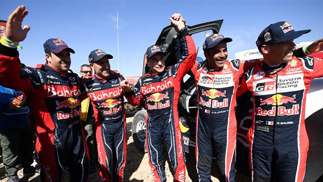 Dakar 2020, etapa 12ª: Carlos Sainz, historia viva del deporte español