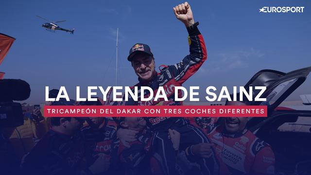 La leyenda de Sainz en el Dakar: Tricampeón con tres coches diferentes en dos continentes