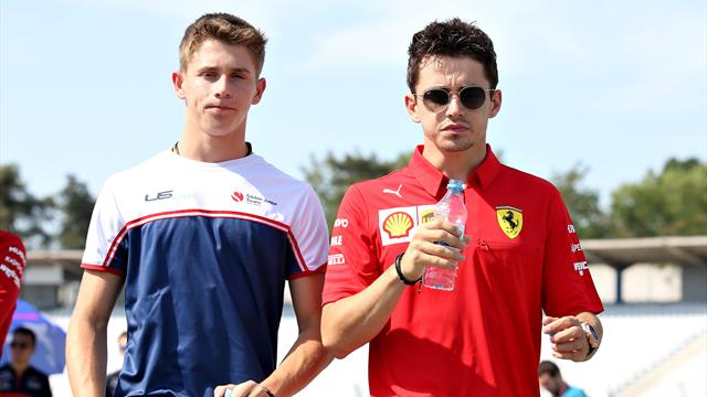 Motor racing-Leclerc's younger brother Arthur joins Ferrari academy