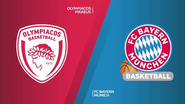 Highlights: Olympiacos Pireo-FC Bayern Monaco 89-72