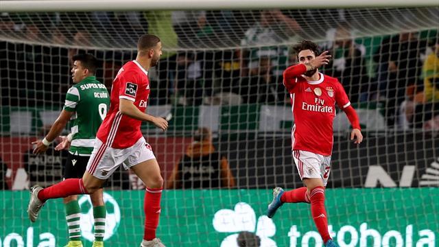 Benfica s'impose au Sporting, Porto battu à domicile