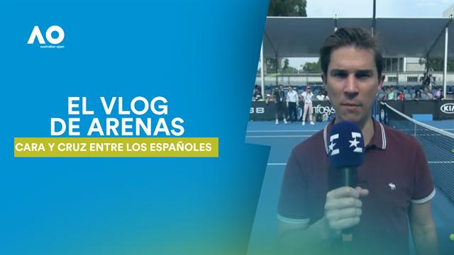 Vlog de Arenas: Cara y cruz en la previa para los españoles