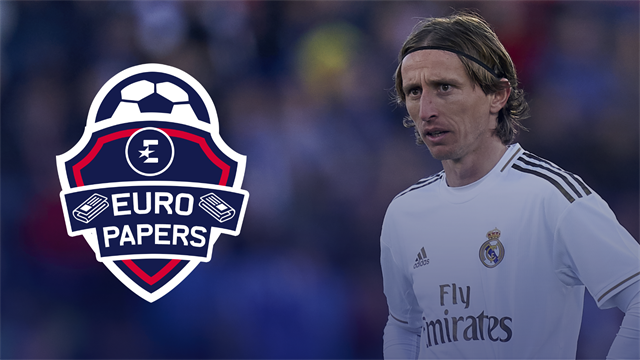 Euro Papers - Is Modric going to be a Conte player?