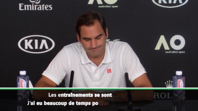 """Open d'Australie - Federer : """"Mes attentes sont assez faibles"""""""