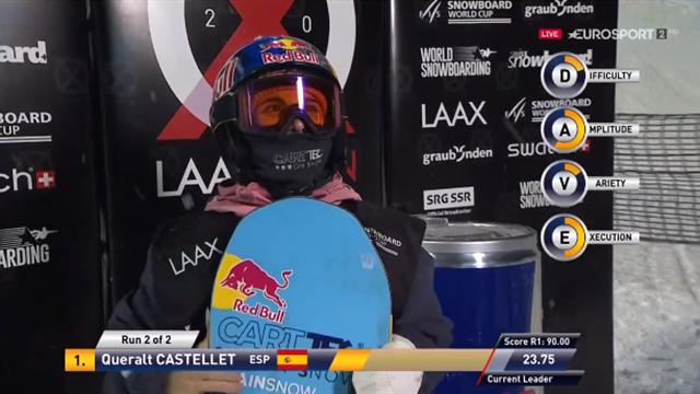 Freestyle: Castellet ganó en Laax y refuerza su 2ª plaza en la Copa del Mundo