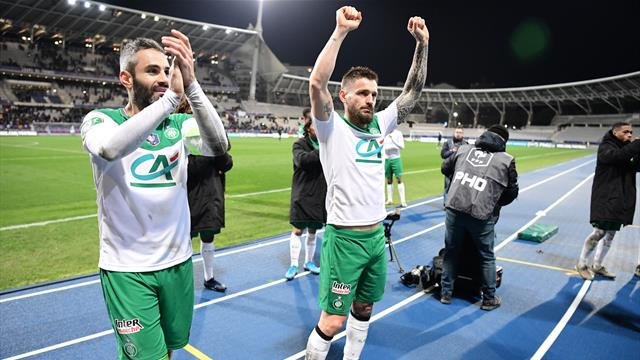 Les Verts ont eu le Paris FC à l'usure : le résumé de leur victoire en vidéo