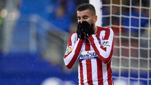 Mauvaise opération pour l'Atlético