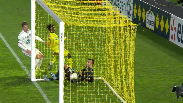 En revenant de 1-4 à 3-4 en trois minutes, Nantes s'était remis à y croire