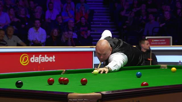 'They call him Ball-run for a reason' – Bingham flukes match ball at Masters