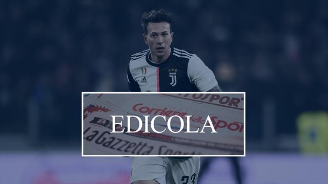 Juventus, lo scambio Bernardeschi-Rakitic si può fare: i dettagli
