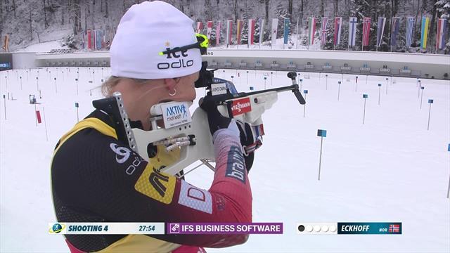 Highlights: Eckhoff wins women's pursuit