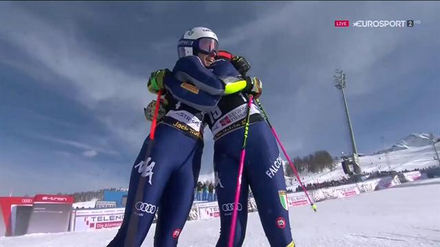 Bassino 3a nel gigante parallelo al Sestriere: 13° podio per le azzurre dello sci