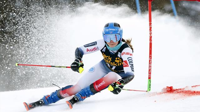 Controversy reigns as Direz stuns Shiffrin on way to maiden victory