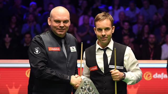 The Masters final as it happened - Bingham beats Carter 10-8 to claim first Masters title