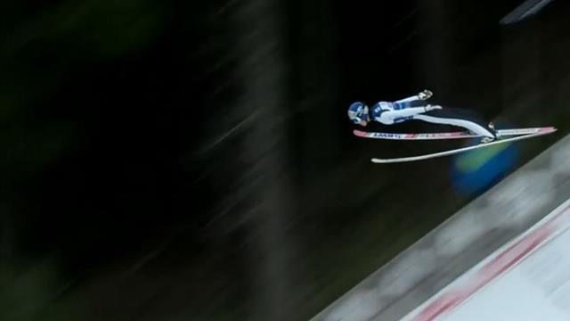 """""""Guck dir das an - Lecko mio!"""" Kobayashi kratzt in Titisee am Schanzenrekord!"""