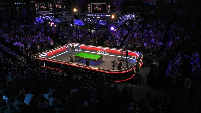 Snooker continues in face of coronavirus chaos in world sport