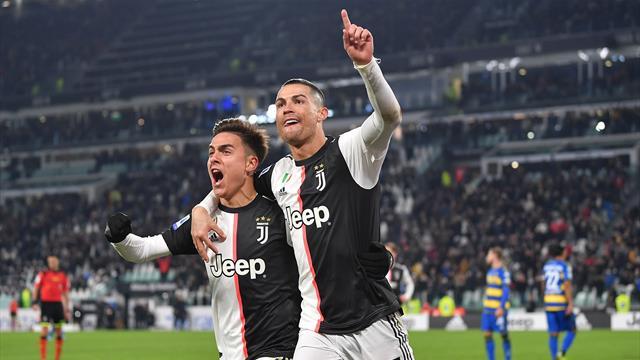 Ronaldo schießt Juve zum Sieg über Parma, Inter patzt in Lecce