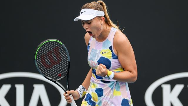 Open Australia 2020, Badosa-Larsson: Y llegó la primera victoria en Grand Slam