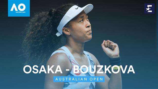 Open Australia 2020: Naomi Osaka-Marie Bouzkova, la campeona templó sus nervios