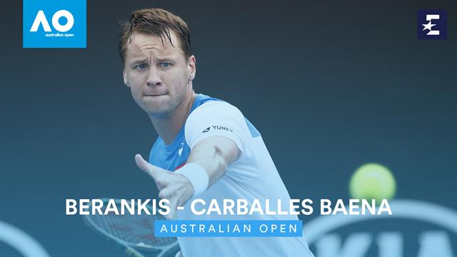 Open Australia 2020: Carballés, primer español eliminado en Melbourne