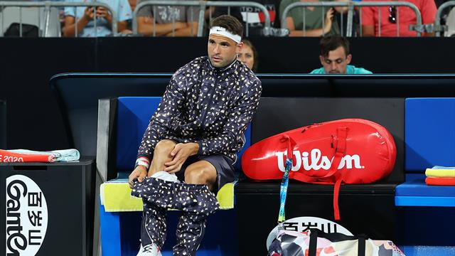 Dimitrov On Tracksuit: 'I Don't Want To Be Vanilla'