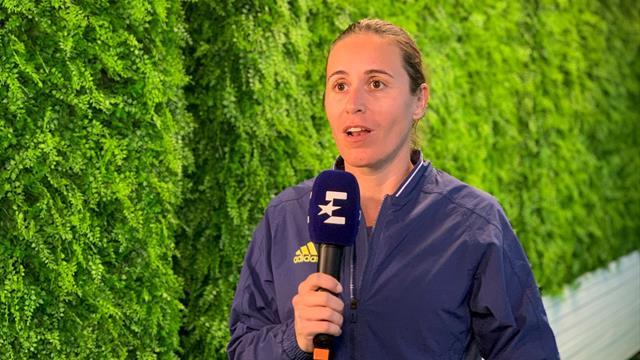 Open de Australia 2020, pasando bolas: Anabel Medina confía en un buena recuperación de Muguruza