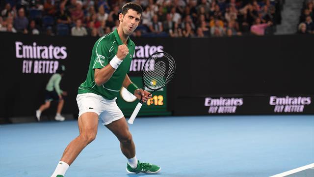 """""""Elastic man"""" est de retour : Djokovic a écoeuré Struff avec son passing"""