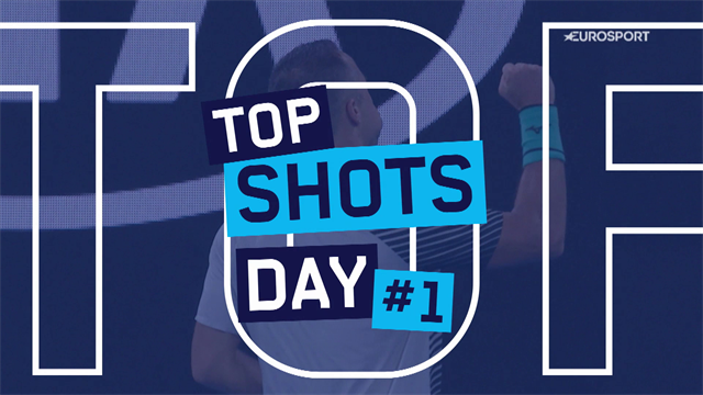 Top 5 Shots of the Day: Federer, Djokovic star in best of day one