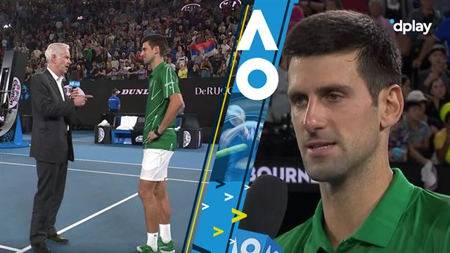 900 karriere-sejre til Djokovic: Se hele interviewet med John McEnroe