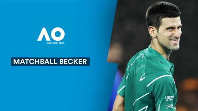 """Matchball Becker: """"Djokovic emotional nicht ganz auf der Höhe"""""""