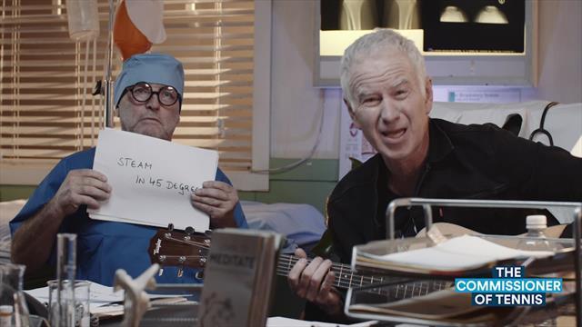 'It's for the Earth' - Commissioner McEnroe's emotional song for Australia